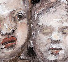 dolls heads by WoolleyWorld