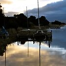 Goolwa sunset  by Ali Brown