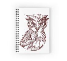 Zen Owl Spiral Notebook