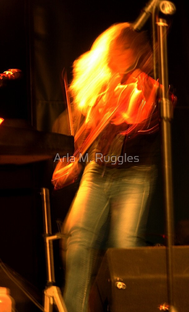 Fiddle On Fire by Arla M. Ruggles
