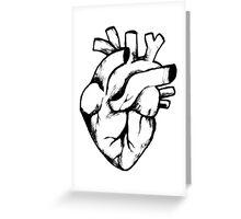 Heart Sketch Greeting Card