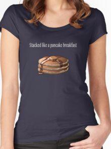 Pancake Breakfast  Women's Fitted Scoop T-Shirt