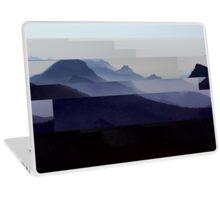 Glitch Mountains Laptop Skin