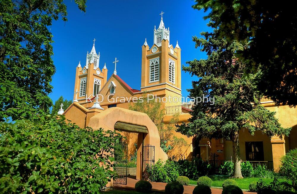 San Felipe de Neri Church New Mexico by K D Graves Photography