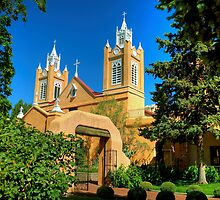 San Felipe de Neri Church New Mexico by K D Graves Photography