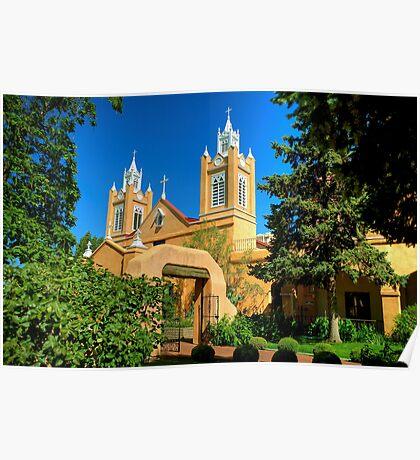 San Felipe de Neri Church New Mexico Poster