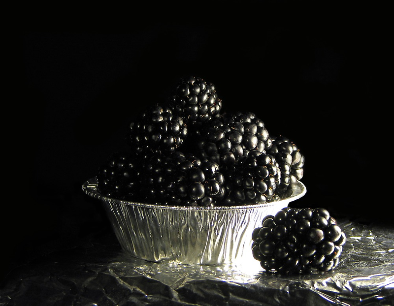 Still life with blackberries by JuliaPaa