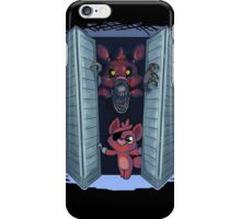 Something's in your closet  iPhone Case/Skin