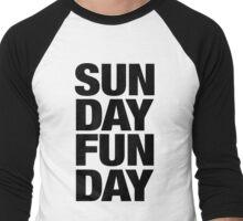 Sunday Funday Men's Baseball ¾ T-Shirt