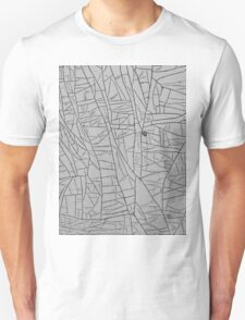 Grunge of Steel and Paint - Abstract Art Unisex T-Shirt