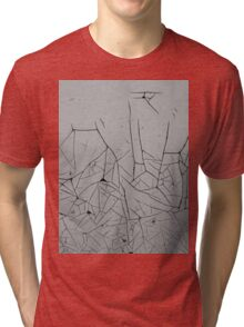 Rustic Background - Paint of Time Tri-blend T-Shirt