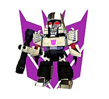 Transformers Megatron Deformed 3D Photographic Print