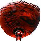 Red Wine Swirl by Gary Browne