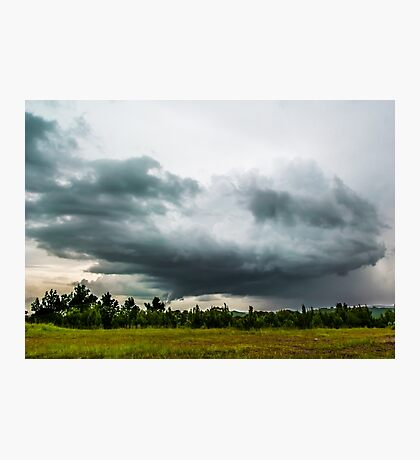 Spinning Storms Photographic Print