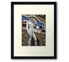The Replica....Florence. Framed Print