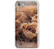 Dried Roses Flower Arrangement  iPhone Case/Skin