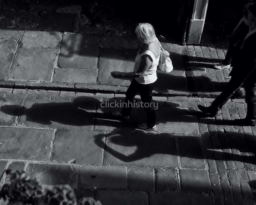 Shadow photographers in action by clickinhistory