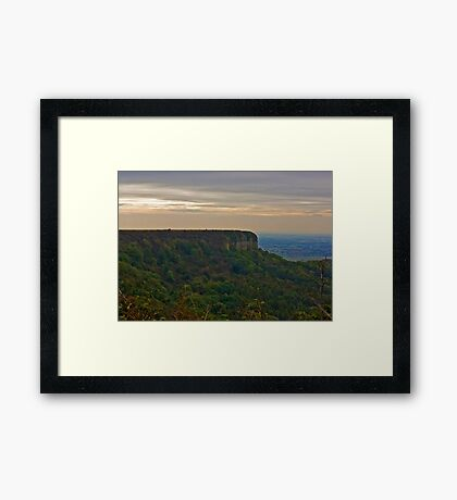 View of Roulston Scar Framed Print