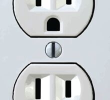 Electrical Outlet - Type B Sticker