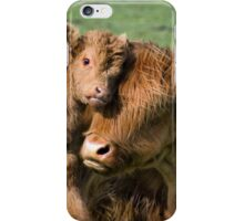 Mother and Calf iPhone Case/Skin