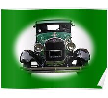 Model A Ford Car Poster