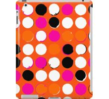 Orange dots iPad Case/Skin