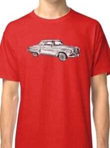 Studebaker Champion Antique Car Illustration Classic T-Shirt