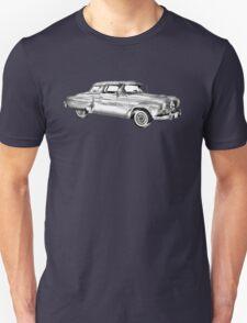 Studebaker Champion Antique Car Illustration T-Shirt