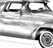 Studebaker Champion Antique Car Illustration Sticker
