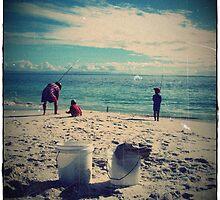 Iluka beach, south coast, nsw by melindaonleave