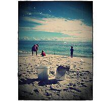Iluka beach, south coast, nsw Photographic Print