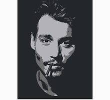 Johnny Depp - Greyscale  Tank Top