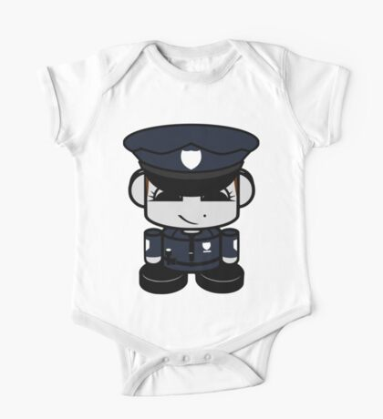 Police Hero'bot 2.0 One Piece - Short Sleeve