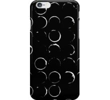 Moon phases print iPhone Case/Skin