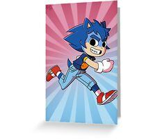 Sonic Pilgrim Greeting Card