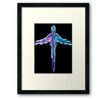 Spirit Of The Sword Framed Print