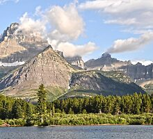 Swiftcurrent Lake by Caleb Ward