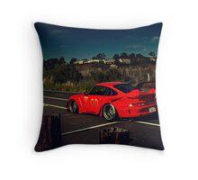 RWB Porsche Throw Pillow