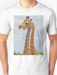 Giraffe - Symmetrical Same T-Shirt