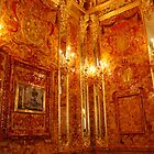 Amber room- Catherine's Palace by Jeddaphoto