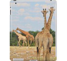 Giraffe - Jealousy and Funny Love iPad Case/Skin