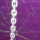 """Bondage"" aka ""Chain of Custody"" aka ""The Chains That Bind You""- (In Purple) by Deb  Badt-Covell"