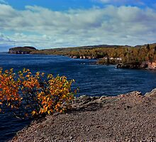 Shovel Point in Autumn by by M LaCroix