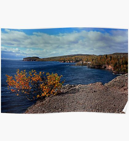 Shovel Point in Autumn Poster