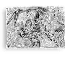 Pterodactyl Machine Canvas Print