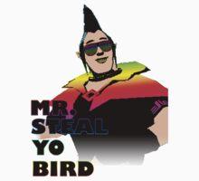Mr. Steal-Yo-Bird Kids Tee