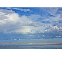 Blue Tranquility - Journey through Color Photographic Print