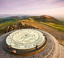 The Malvern Hills : Worcestershire Beacon by Angie Latham