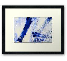 Abstraktes Bild 34 Framed Print