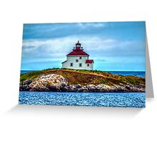 Queensport Lighthouse Greeting Card